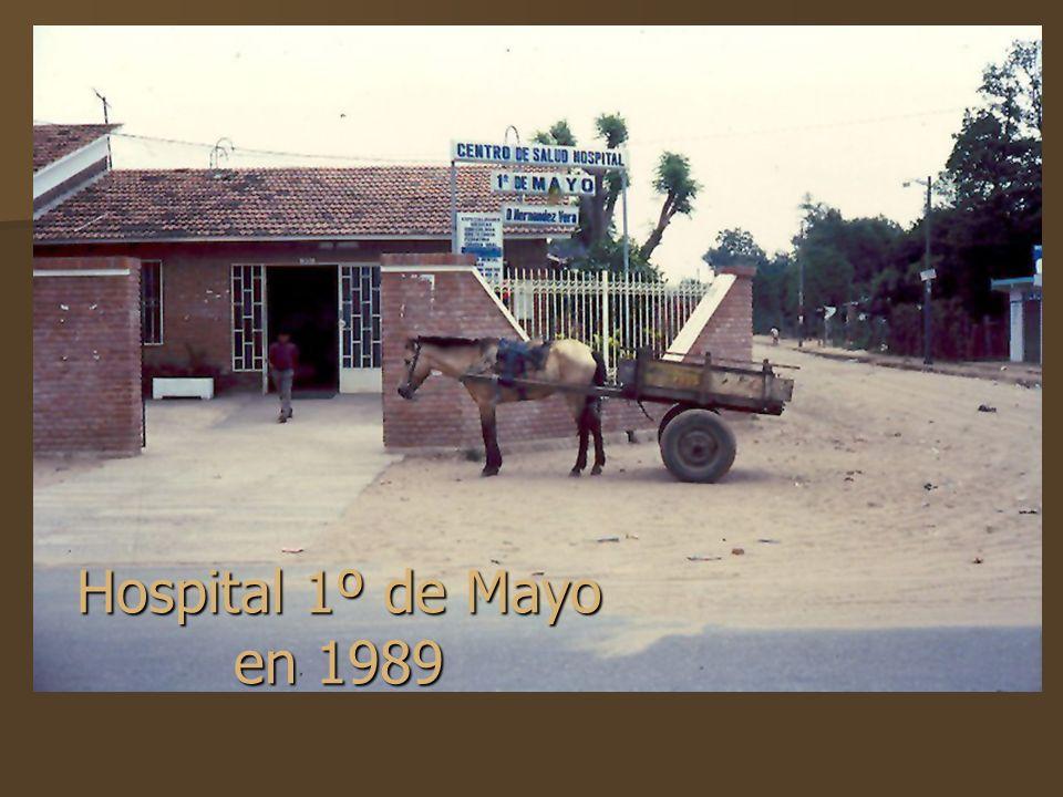 Hospital 1º de Mayo en 1989