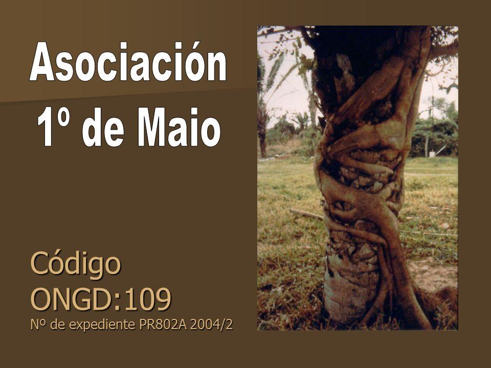 Código ONGD:109 Nº de expediente PR802A 2004/2