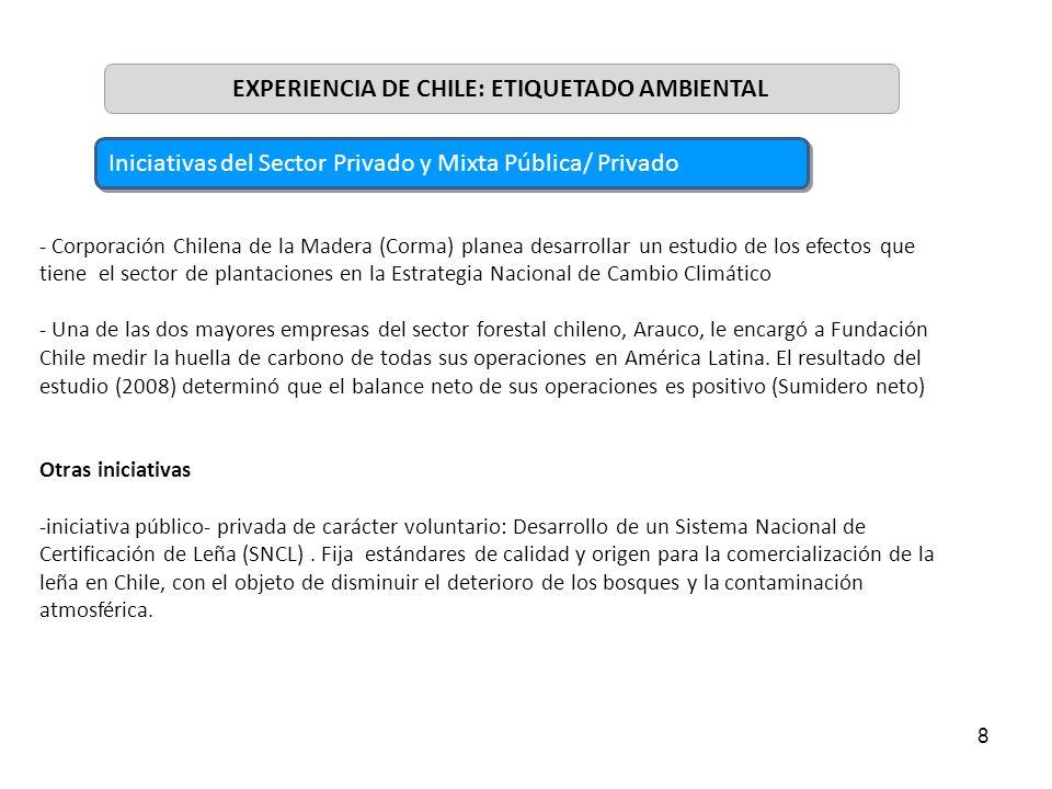 8 - Corporación Chilena de la Madera (Corma) planea desarrollar un estudio de los efectos que tiene el sector de plantaciones en la Estrategia Naciona