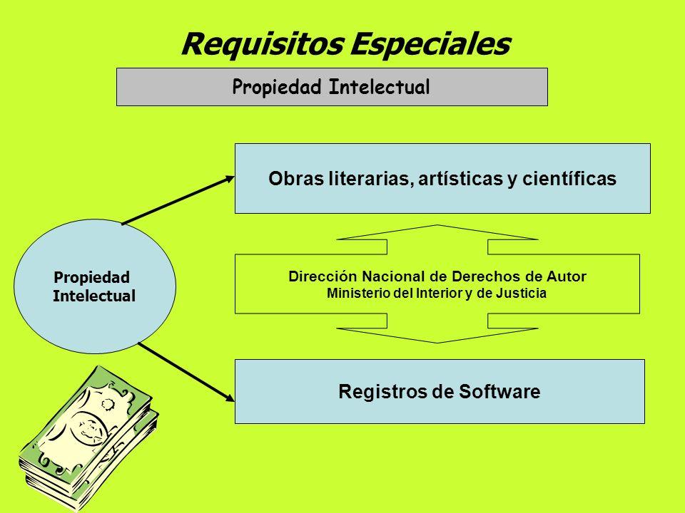 Requisitos Especiales Marcas y Patentes Propiedad Industrial Registro de Marcas: Signos perceptibles que permiten Distinguir en el mercado los product