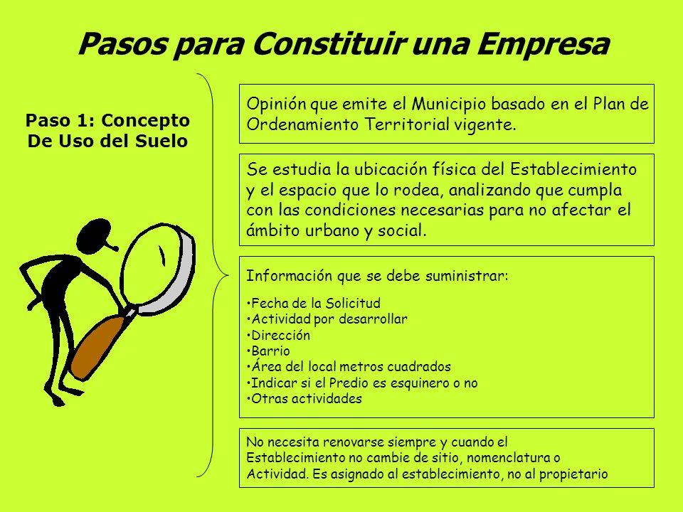 Constitución de una Sociedad Comercial Minuta La Sociedad Comercial se constituirá por Escritura Pública (Art. 110 C. de C) y debe ser tramitada y Aut