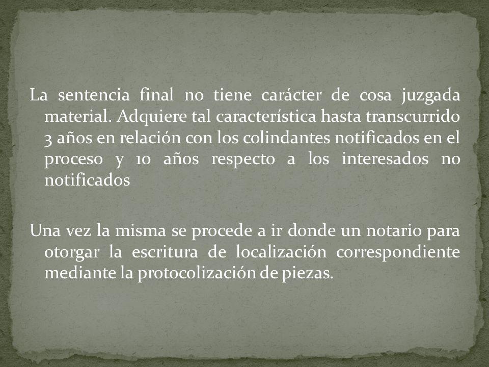Es un medio que otorga el Código Notarial por medio del artículo 129 de dicho cuerpo normativo.