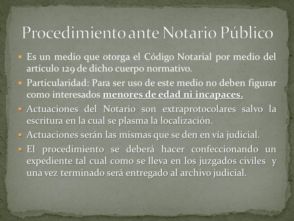 Gran responsabilidad del Notario.