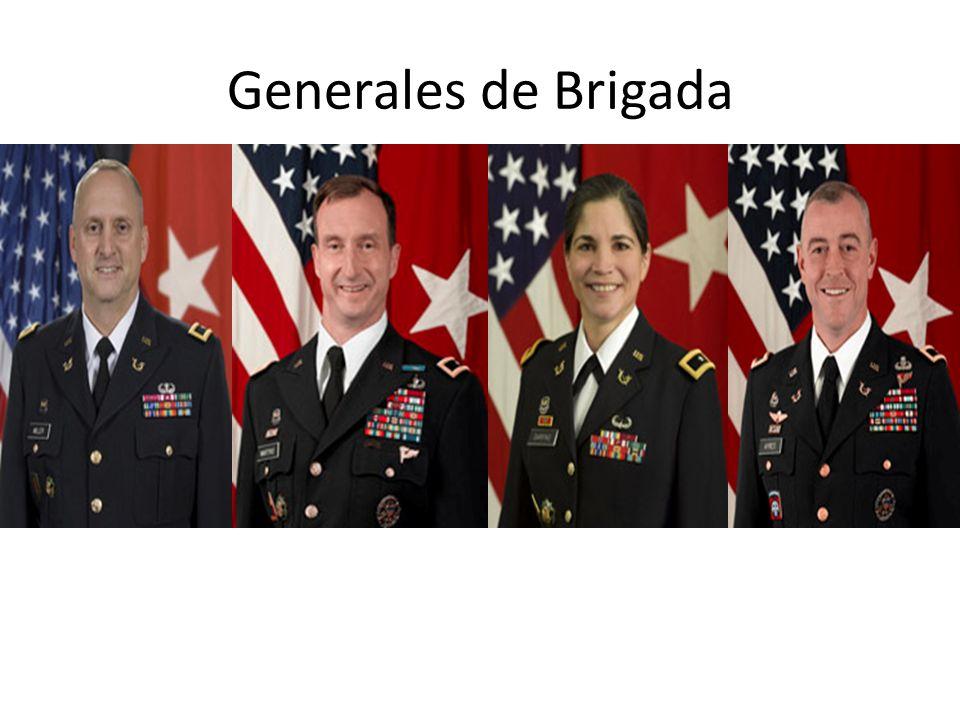 Generales de Brigada