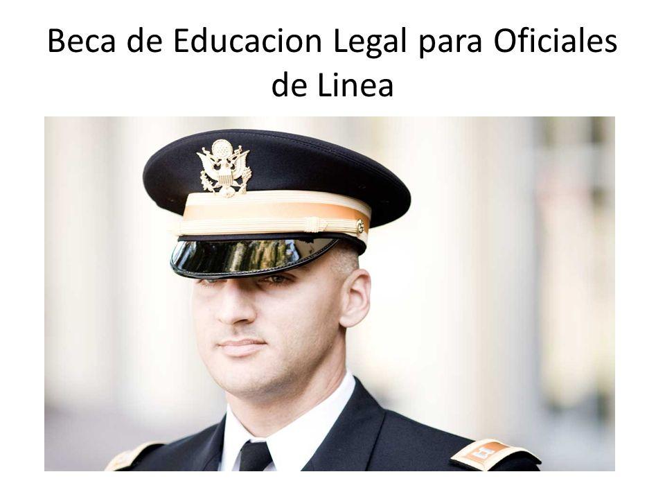 Beca de Educacion Legal para Oficiales de Linea