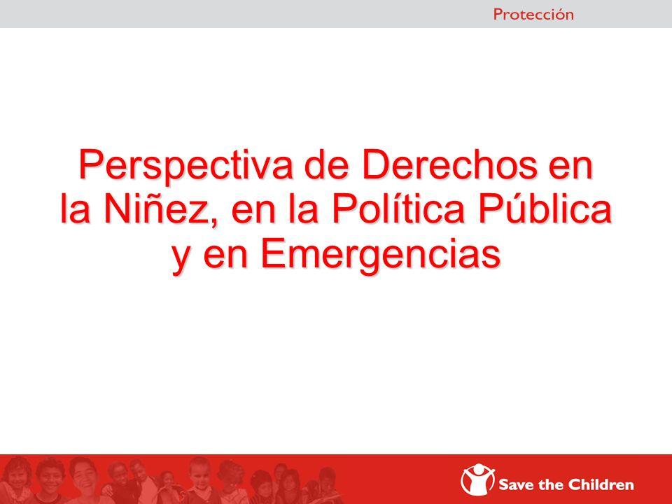 Niñez y Política Pública (Programas, Proyectos, Intervenciones…)