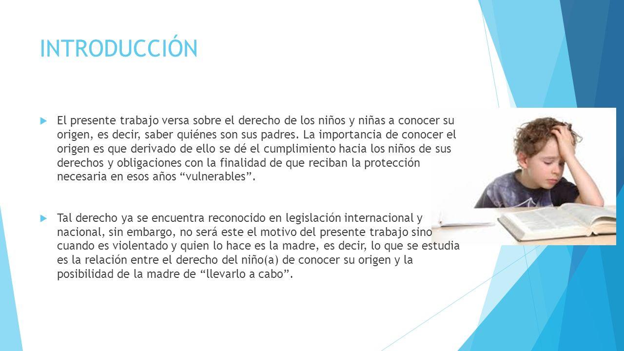 LA NIÑEZ MEXICANA Y SU DERECHO DE IDENTIDAD. Josefina Torres Barrón Diplomado de Educación a Distancia en Derechos Humanos 2013 Catedra UNESCO-UNAM Sá