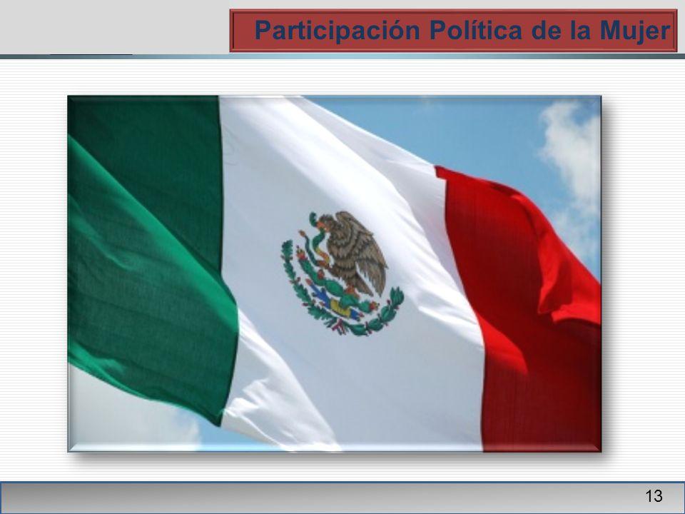 PGR Participación Política de la Mujer 13