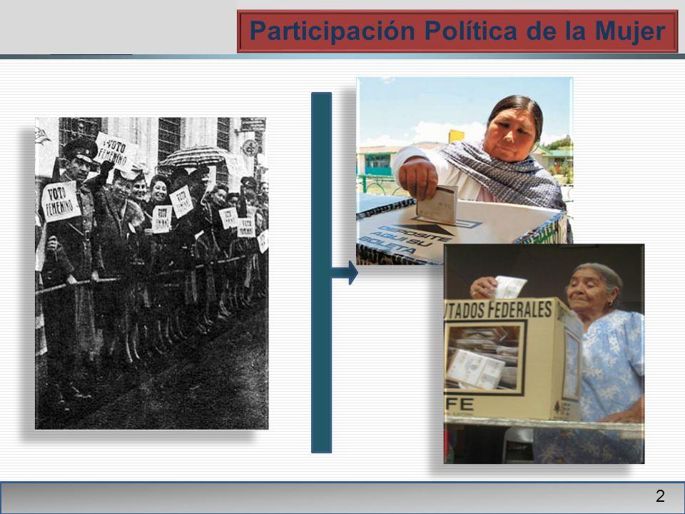 PGR Participación Política de la Mujer 2