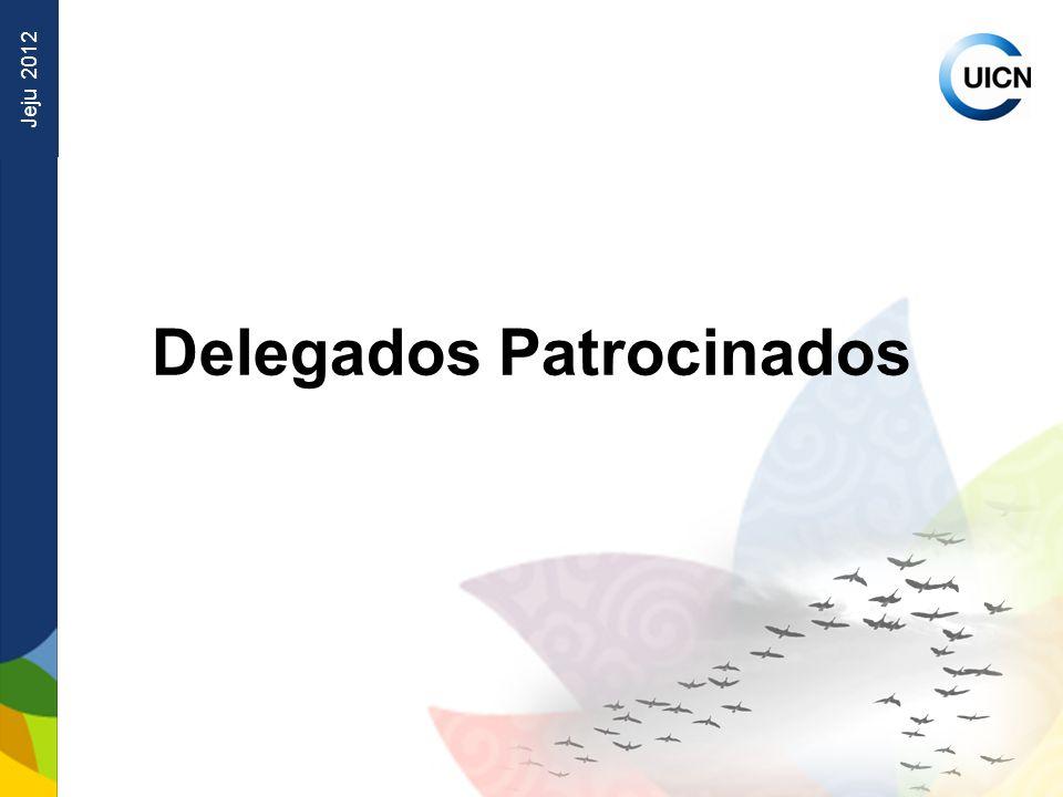 Jeju 2012 Delegados Patrocinados