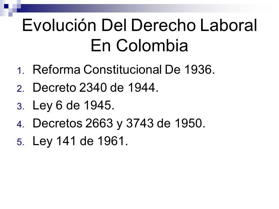 Fundamentos Constitucionales del Derecho Laboral.1.