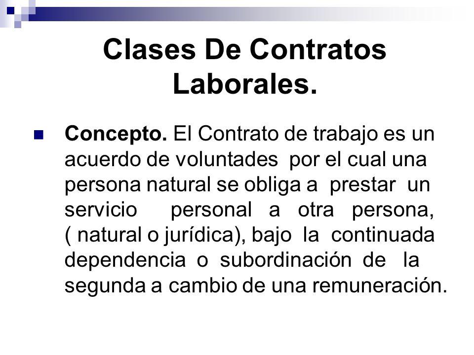 ELEMENTOS ESENCIALES.Partes del contrato de Trabajo 1.