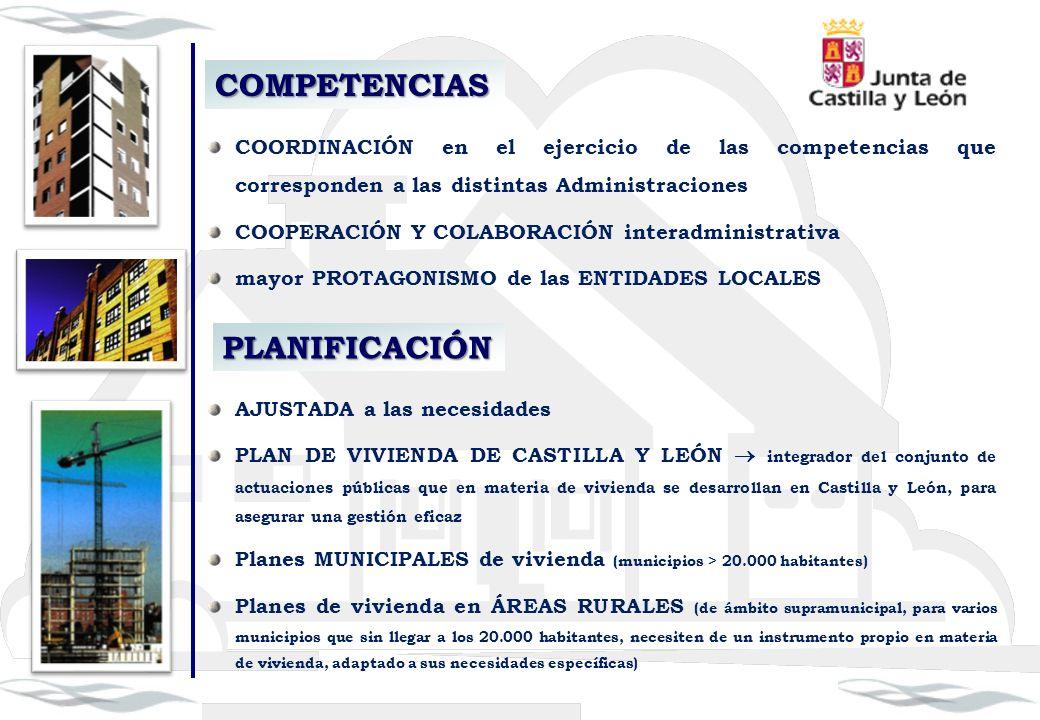 COMPETENCIAS COORDINACIÓN en el ejercicio de las competencias que corresponden a las distintas Administraciones COOPERACIÓN Y COLABORACIÓN interadmini