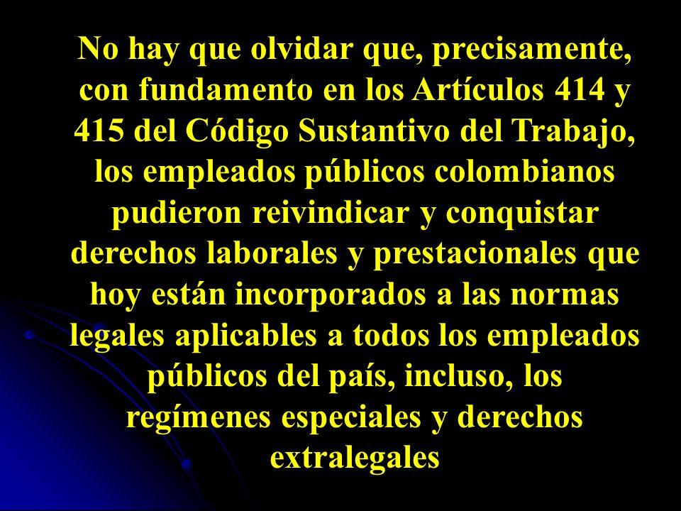 Las organizaciones sindicales mixtas El artículo 58 de la Ley 50 de 1990 adicionó el 414 del Código Sustantivo del Trabajo en lo que respecta a las organizaciones sindicales mixtas, integradas por trabajadores oficiales y empleados públicos, cuya Constitución queda autorizada por el precepto.