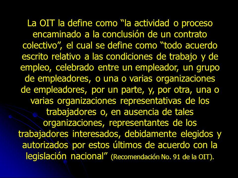 Con la Constitución Política adoptada por los colombianos en 1991, los Convenios Internacionales del Trabajo entraron a formar parte de la legislación interna, como se estableció expresamente en el artículo 53 que señala: Los convenios internacionales de trabajo debidamente ratificados hacen parte de la legislación interna.