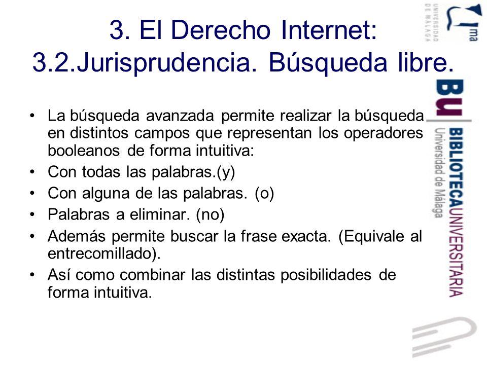 3.El Derecho Internet: 3.2.Jurisprudencia. Jurisdicción.