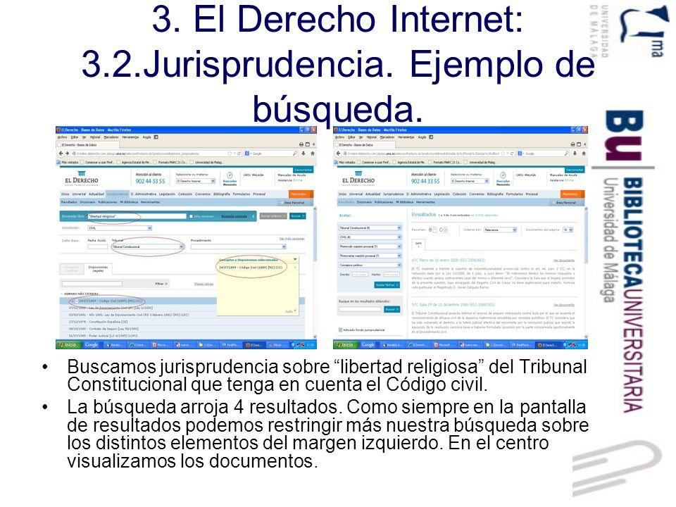 3.El Derecho Internet: 3.2.Jurisprudencia. Visualización de documento.