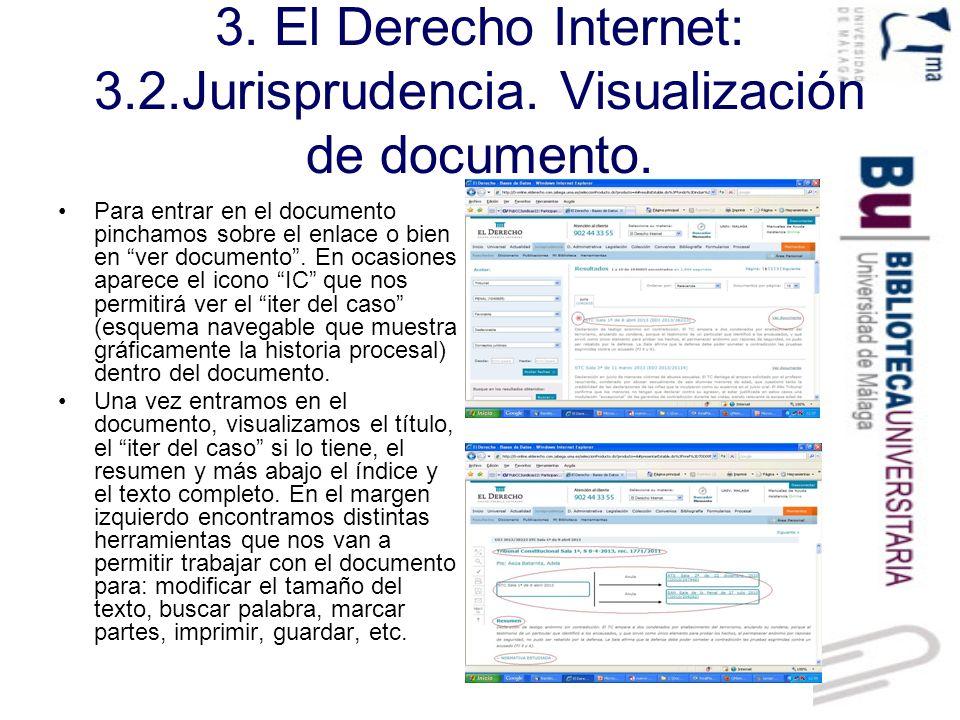 3.El Derecho Internet: 3.3. Legislación.