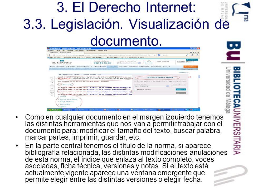3.El Derecho Internet: 3.4. Doctrina.