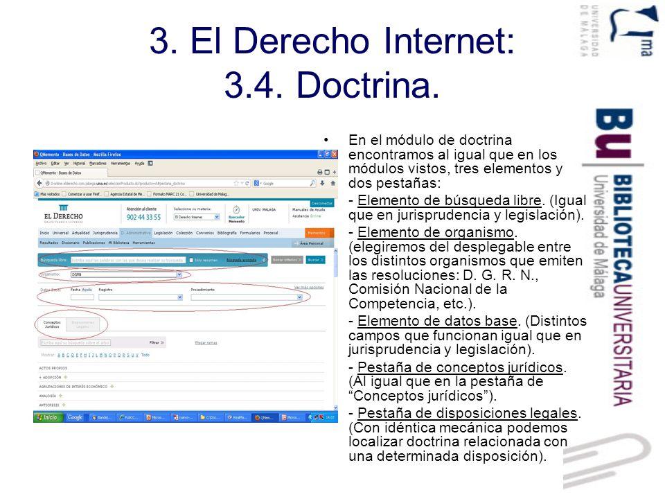 3.El Derecho Internet: 3.5. Colección de textos actualizables.