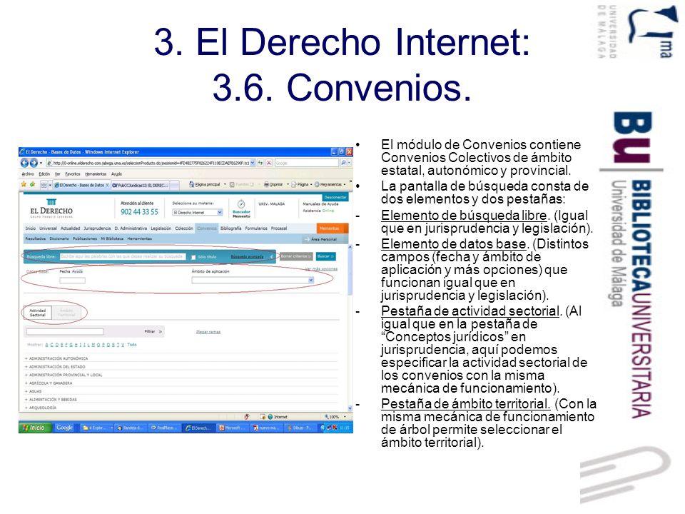 3.El Derecho Internet: 3.7.Bibliografía.