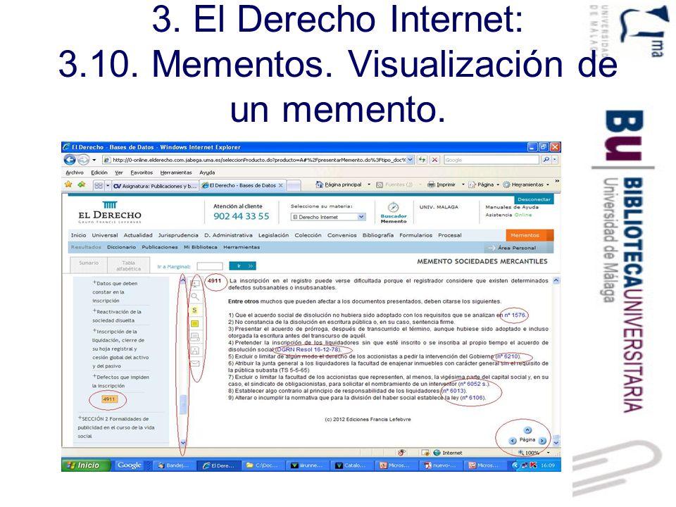 3.El Derecho Internet: 3.11. Actualidad.