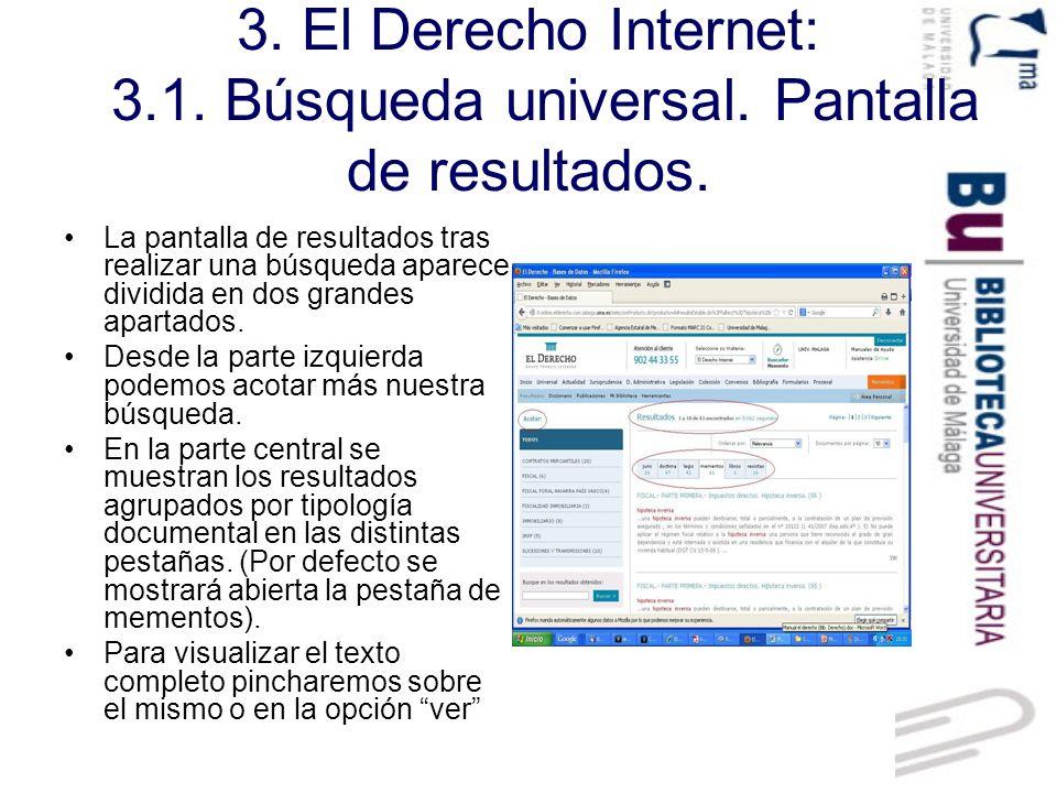 3.El Derecho Internet: 3.2.Jurisprudencia.