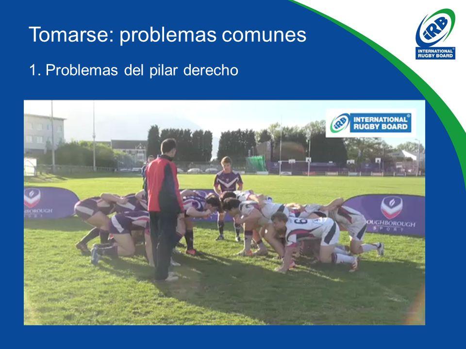 1. Problemas del pilar derecho Tomarse: problemas comunes