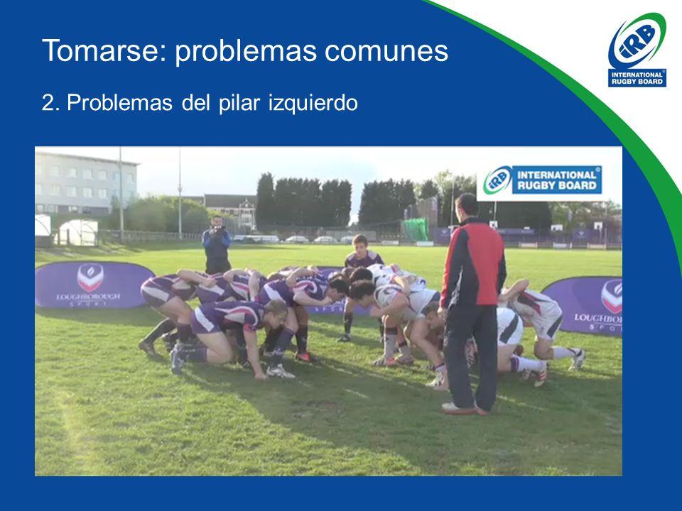 2. Problemas del pilar izquierdo Tomarse: problemas comunes