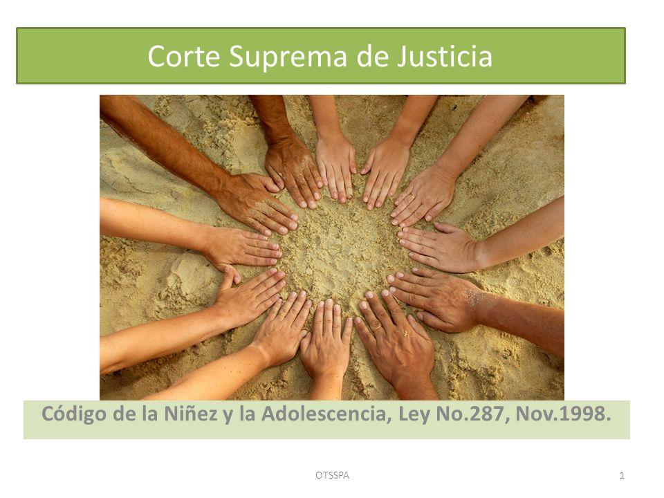Corte Suprema de Justicia Código de la Niñez y la Adolescencia, Ley No.287, Nov.1998. OTSSPA1