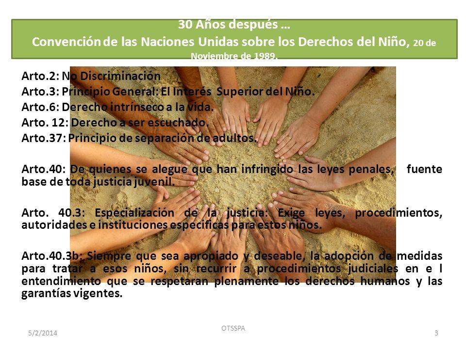Ocupación u oficio de adolescentes sancionados, I Trimestre de 2011.
