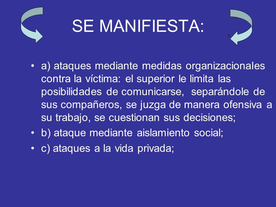 JURISPRUDENCIA. ESPAÑA SJS Madrid núm. 14, de 24 de marzo de 2004: el mobbing se ha traducido como psicoterror laboral u hostigamiento psicológico en