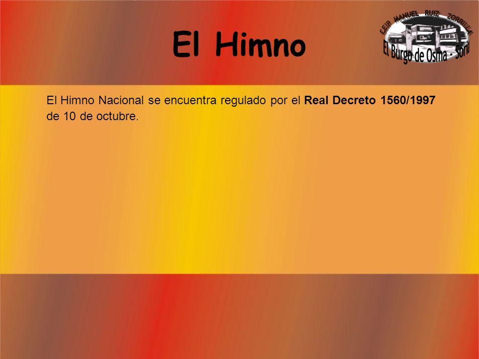 El Escudo El escudo de España, se rige por la Ley 33/81 de 5 de octubre