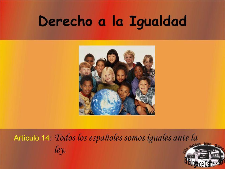 Mayoría de edad Artículo 12: Los españoles son mayores de edad a los 18 años.