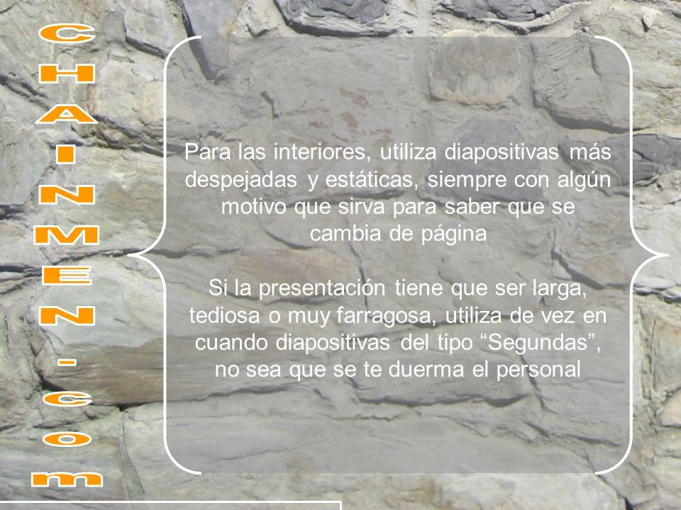 Hace ya un tiempo ofrecí al museo Guggenheim de Bilbao una extensa colección de fondos, principalmente para presentaciones en Power Point (PPT o PPS) o para Open Office Impress, pero fue rehusado mi ofrecimiento, argumentando, que no tenían espacio suficiente, ni forma de presentar dicha colección JE, JE, JE.