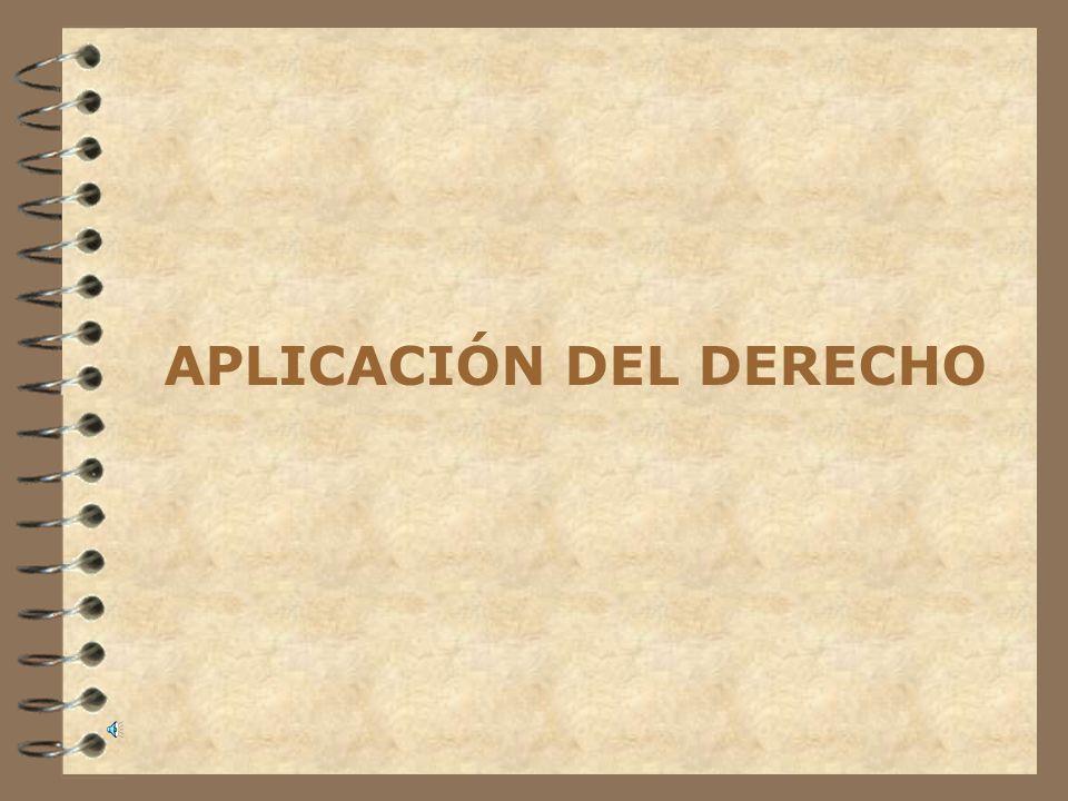 III.Aplicación del derecho III.I. En el espacio Art.