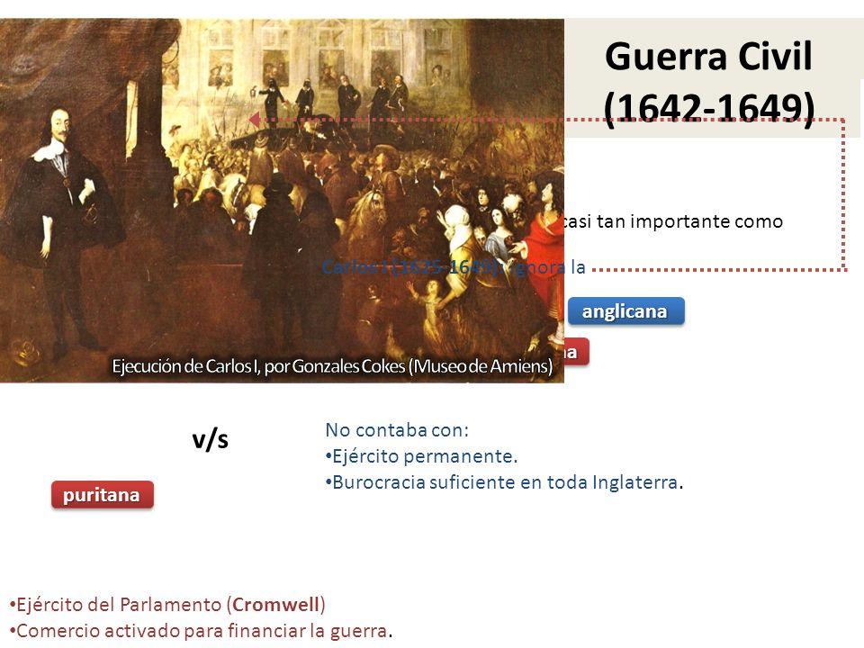 CARTA MAGNA (1215) (1215) se convierte en una instancia de gobierno casi tan importante como la del Reacción parlamentaria contra el Absolutismo Querí