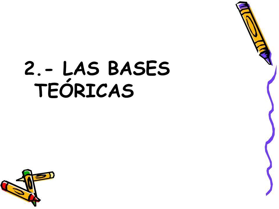 2.- LAS BASES TEÓRICAS