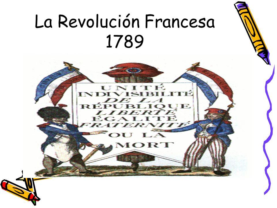 La Revolución Francesa 1789