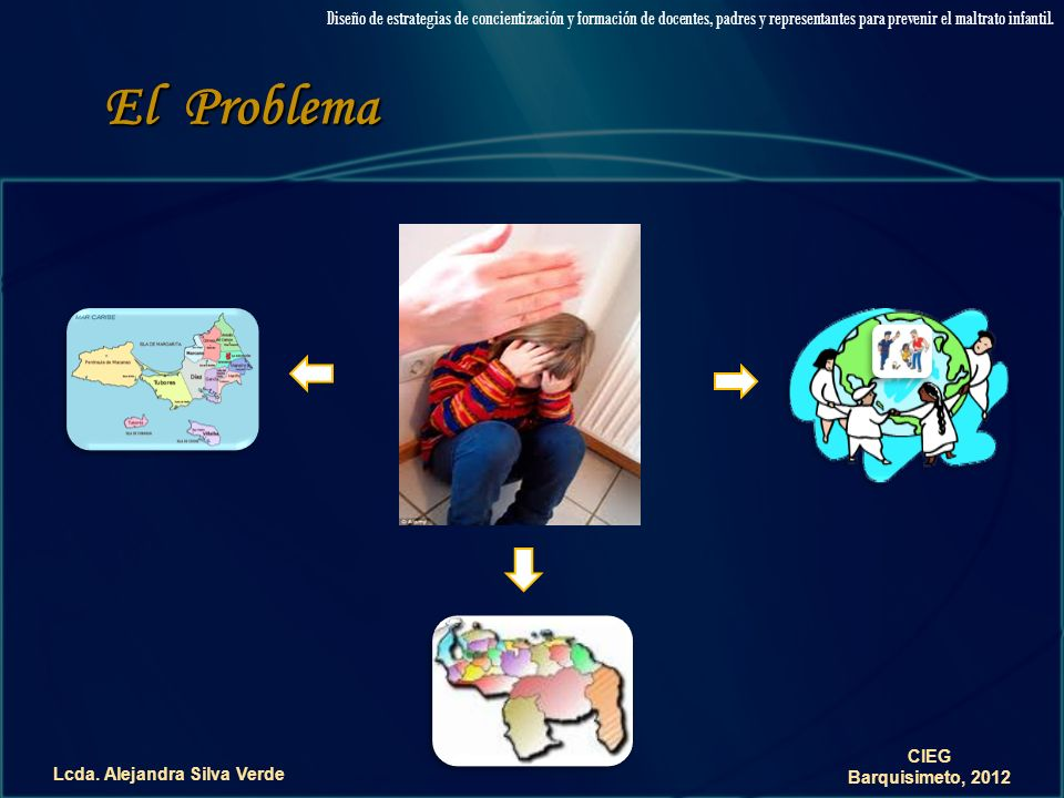 ALEJANDRASILVAVERDEALEJANDRASILVAVERDE No al Maltrato Diseño de estrategias de concientización y formación de docentes, padres y representantes para prevenir el maltrato infantil.