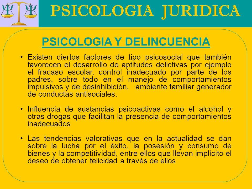 PSICOLOGIA JURIDICA RELACION PRÁCTICA ENTRE EL DERECHO Y LA PSICOLOGIA Inimputabilidad : Según concepto del Dr.