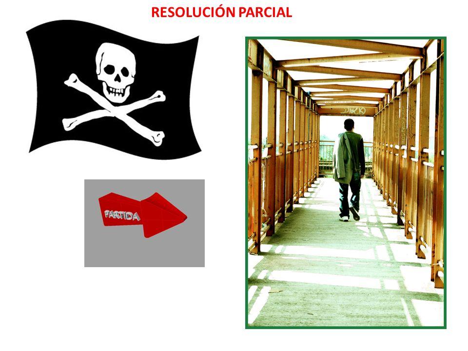 RESOLUCIÓN PARCIAL