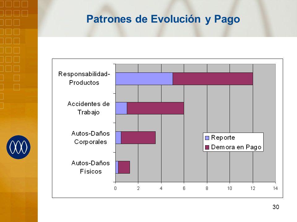 30 Patrones de Evolución y Pago