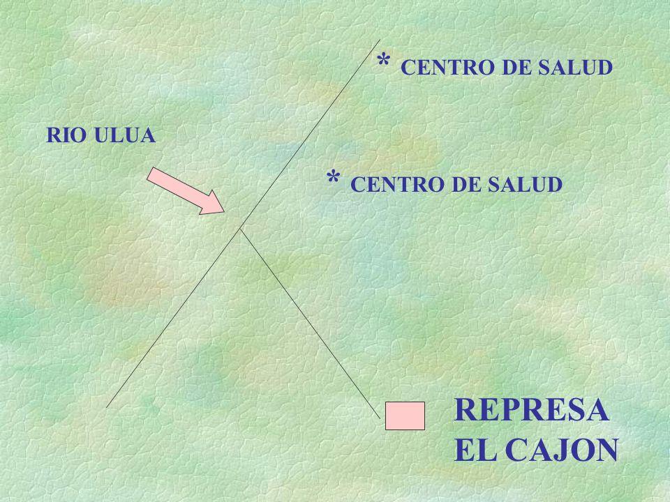 REPRESA EL CAJON RIO ULUA * CENTRO DE SALUD