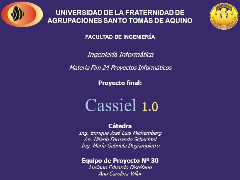 Presentación Final Cassiel 1.0
