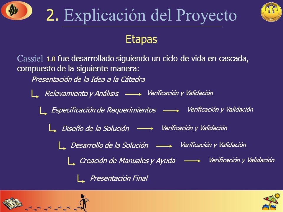 Implantación del Sistema 1. Introducción Cassiel 1.0 se implanta fácilmente en cualquier tipo de balneario de la República Argentina. La gran cantidad