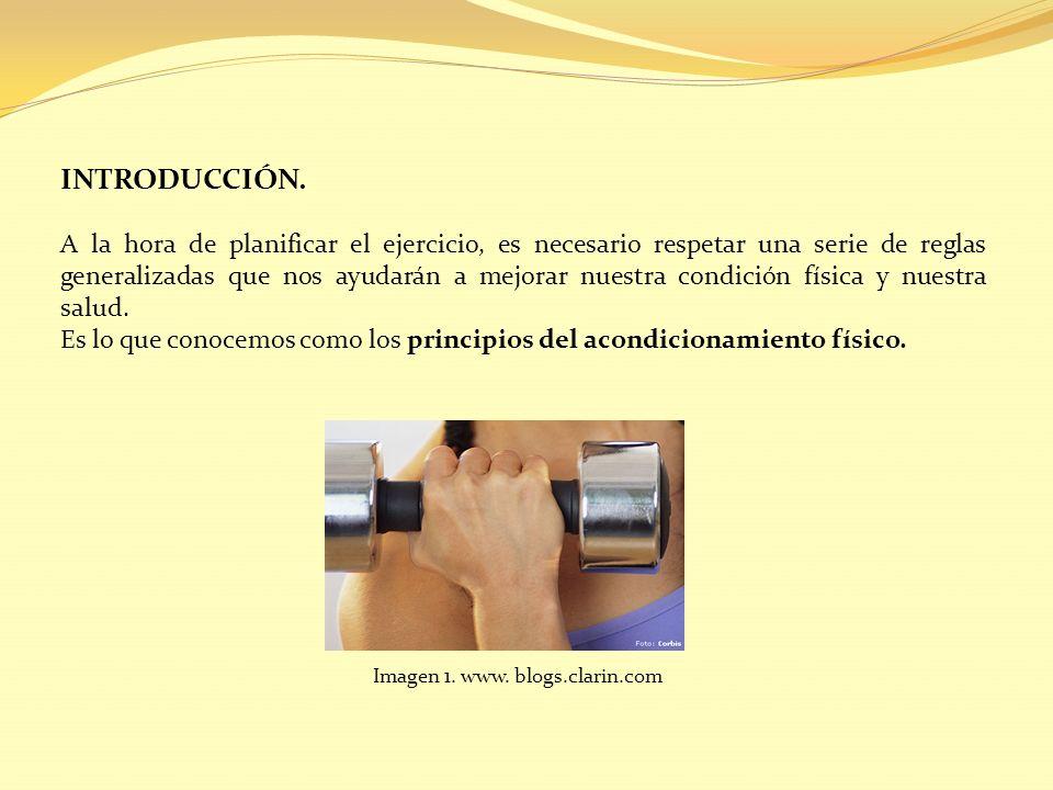 El objetivo del trabajo de la condición física es lograr adaptaciones en el organismo.