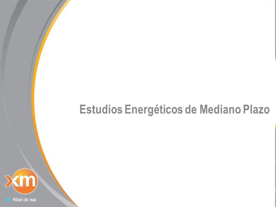 16 Estudios Energéticos de Mediano Plazo