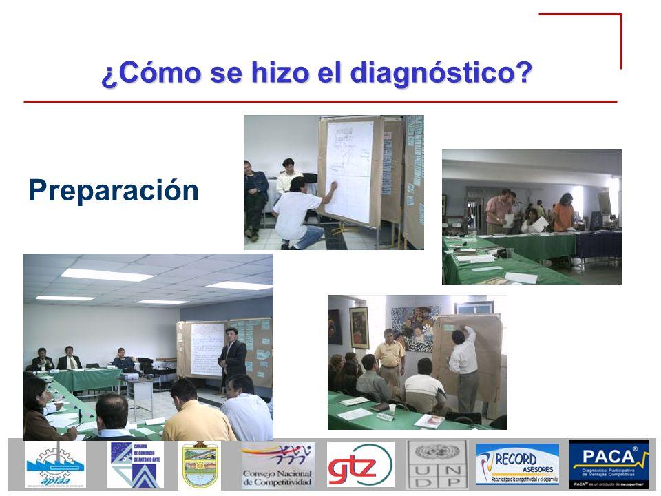 ¿Cómo se hizo el diagnóstico? Preparación