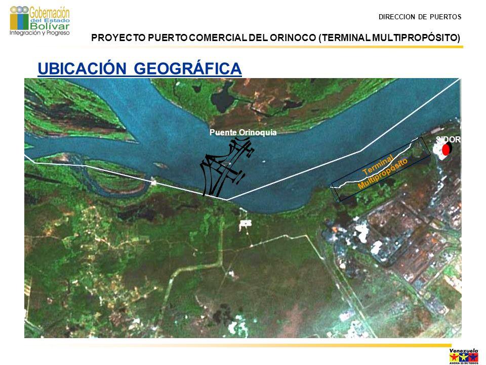DIRECCION DE PUERTOS Memorando de entendimiento entre CVG y Gobernación del Estado Bolívar.